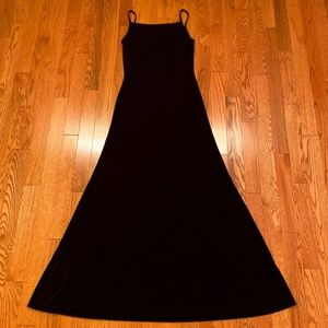 Lauren Ralph Lauren Black Maxi Dress Small